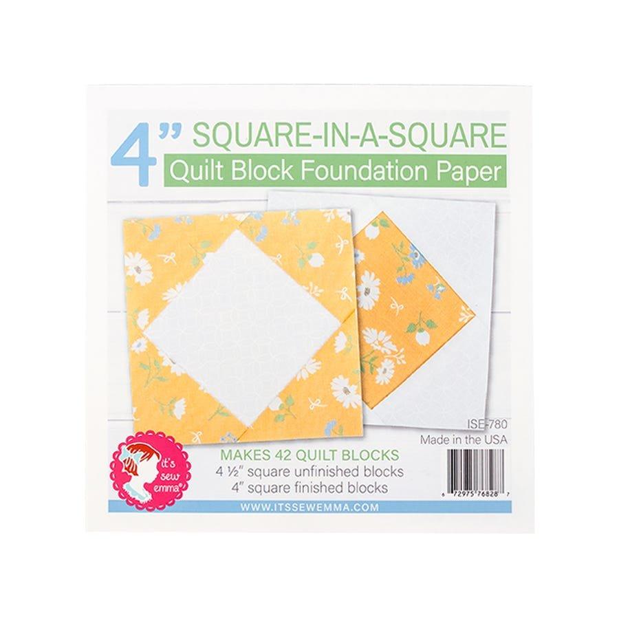 Foundation Paper Pad - Square in a Square 4 Block