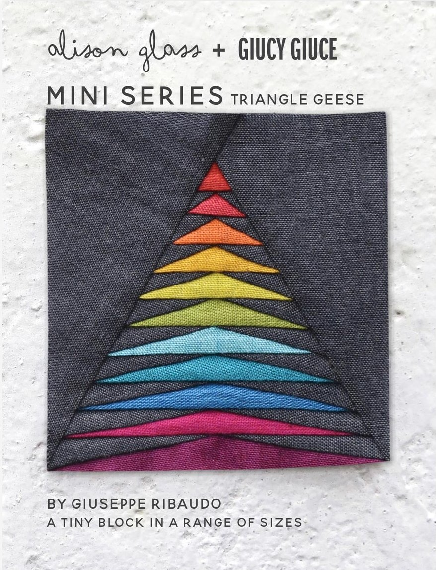 Alison Glass + Giucy Giuce - Mini Series - Triangle Geese