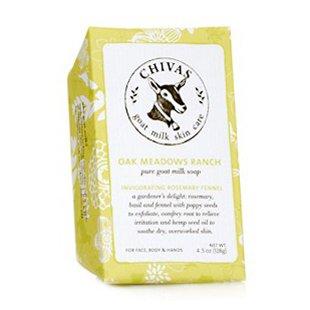 Chivas Goat Milk Soap - Oak Meadows Ranch Invigorating Rosemary Fennel