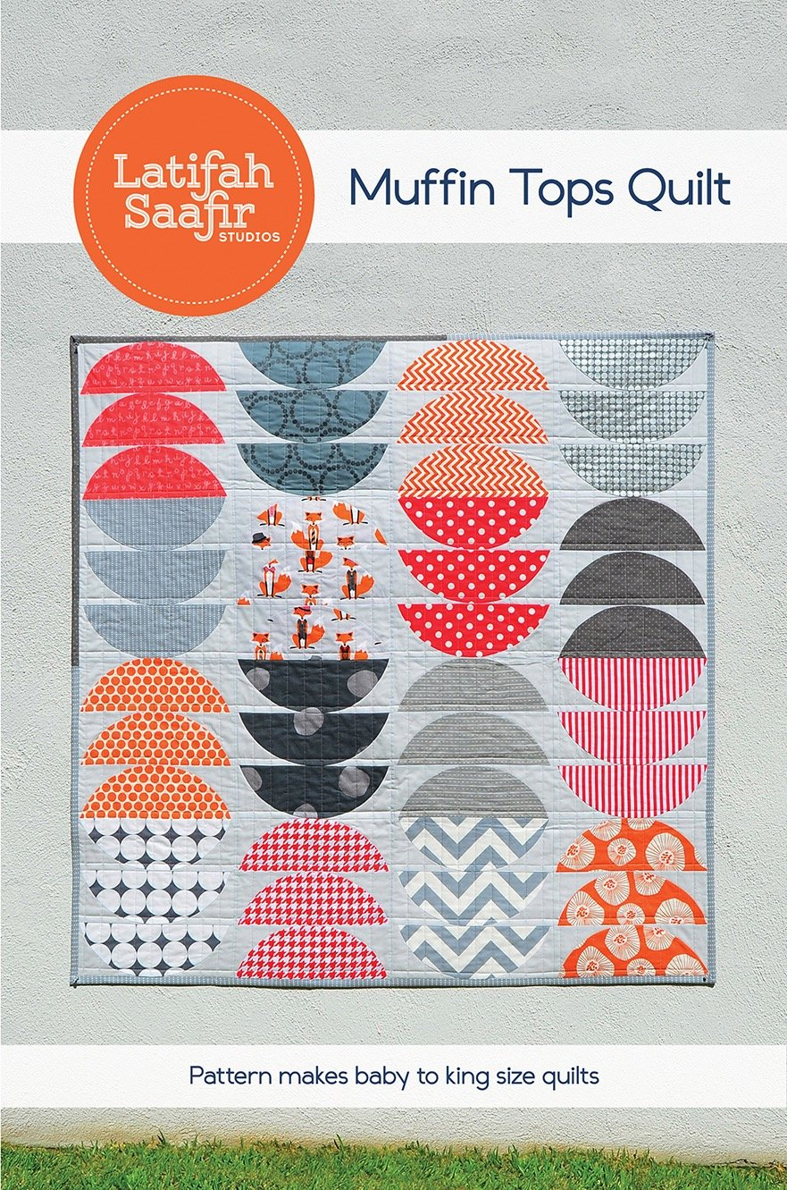 Latifah Saafir Studios - Muffin Tops Quilt