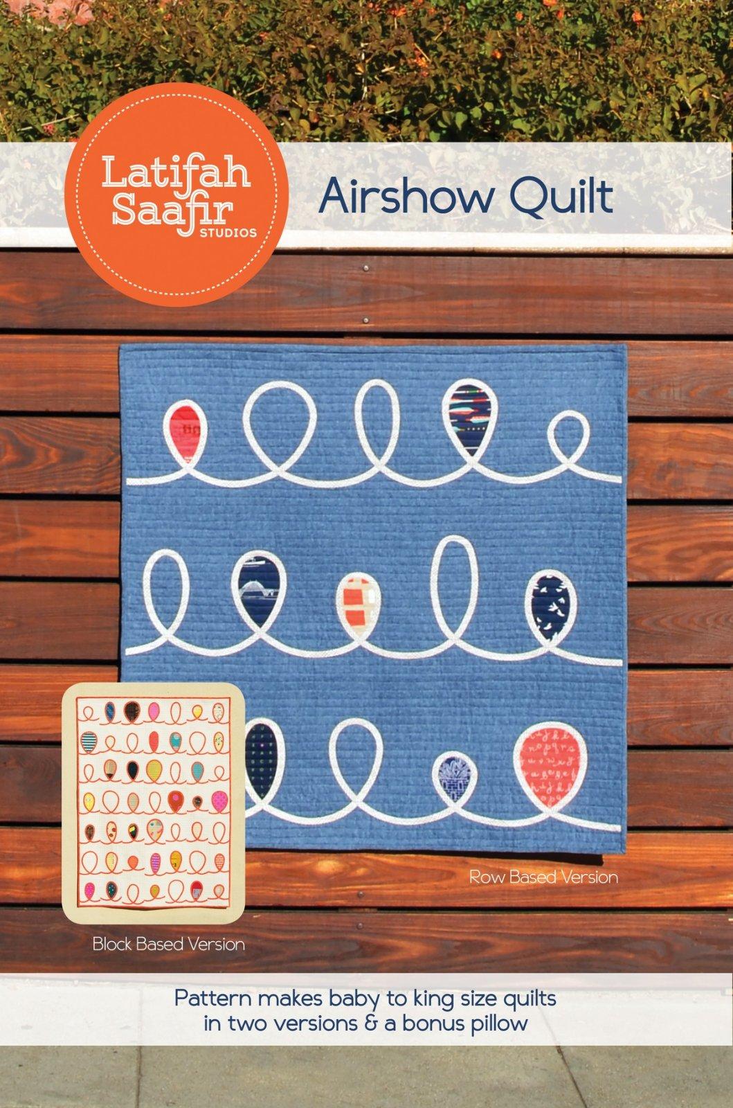 Latifah Saafir Studios - Airshow Quilt & Pillow