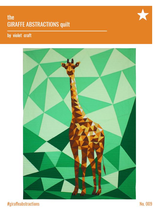 Violet Craft - Giraffe Abstractions