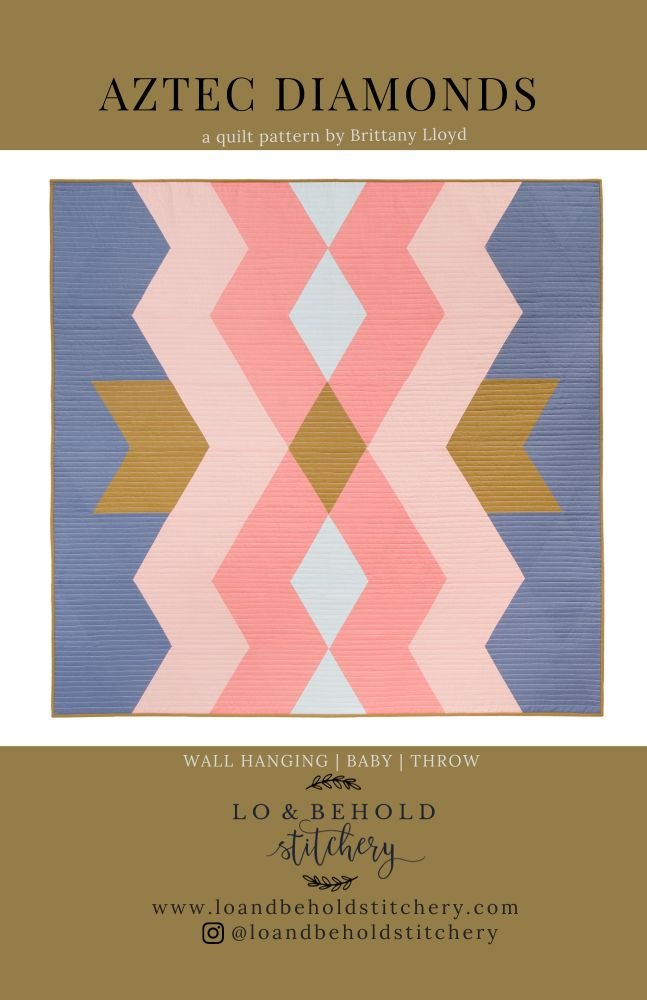 Lo & Behold Stitchery - Aztec Diamonds