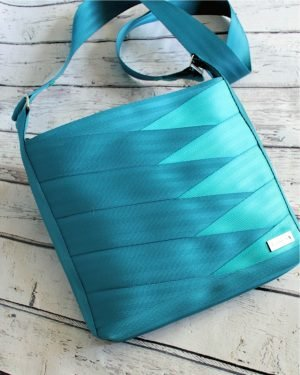 Bag Kit - Roundabout Seatbelt Bag - Aqua & Teal