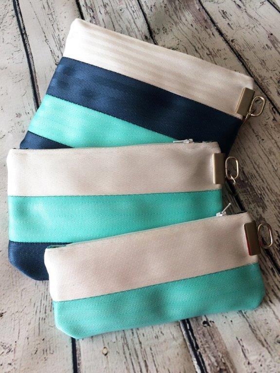 Bag Kit - Seatbelt Pouch & Wristlet Trio