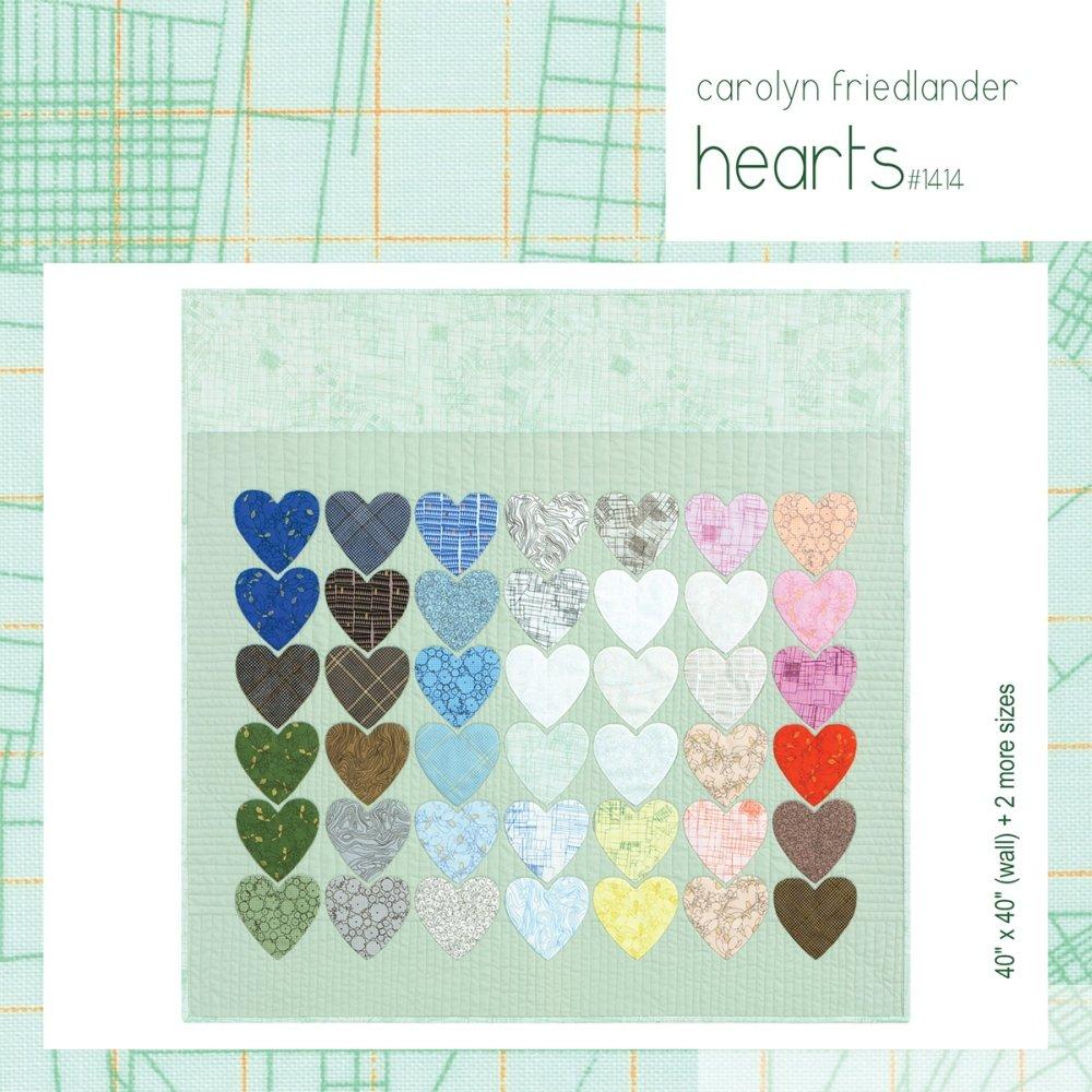 Carolyn Friedlander - Hearts