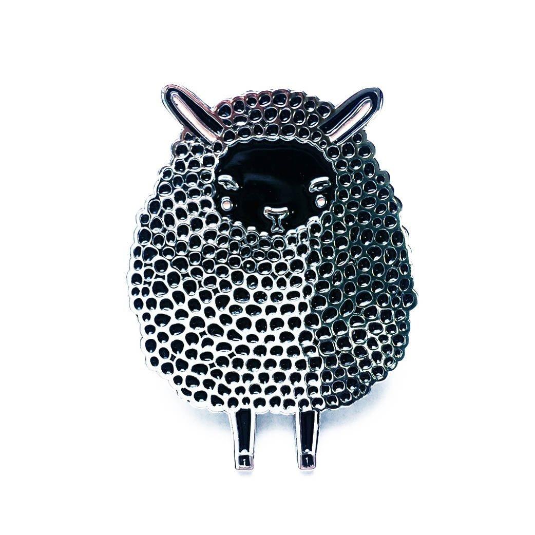 Gingiber - Enamel Pin - Black Sheep
