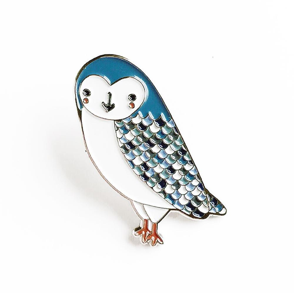Gingiber - Enamel Pin - Owl