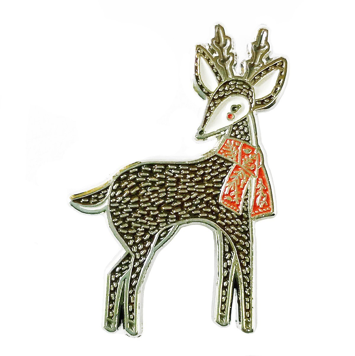 Gingiber - Enamel Pin - Merriment Deer