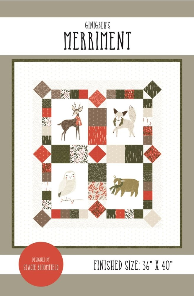 Gingiber - Merriment Wall Quilt
