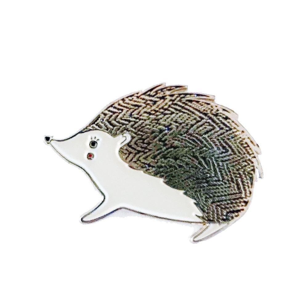 Gingiber - Enamel Pin - Bramble Hedgehog