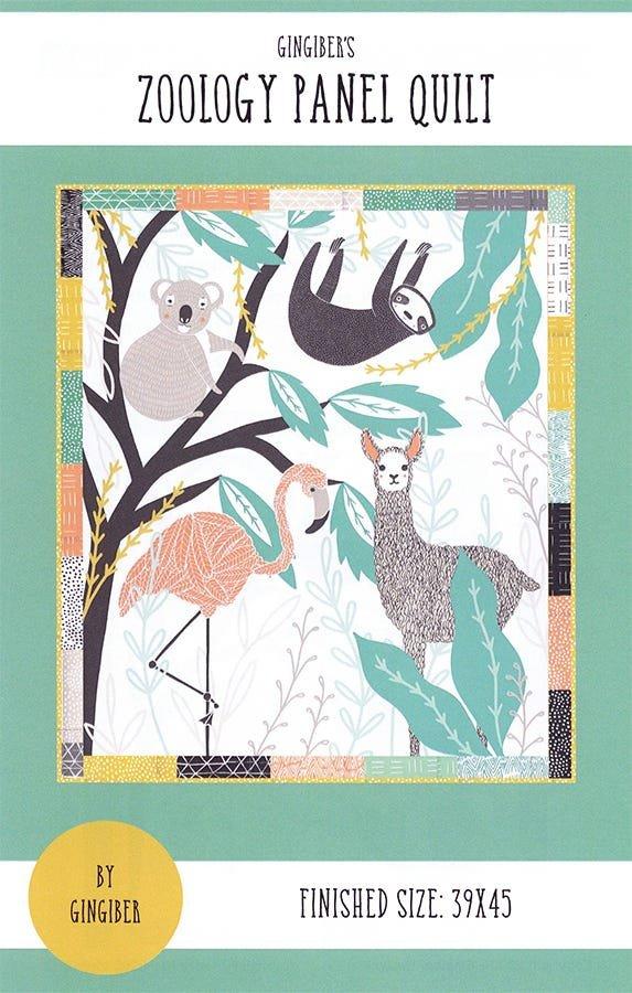 Gingiber - Zoology Panel Quilt