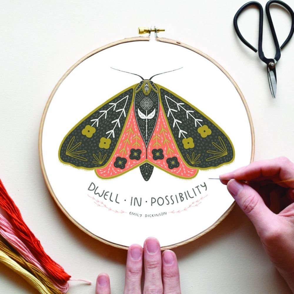 Gingiber - Dwell in Possibility Embroidery Sampler