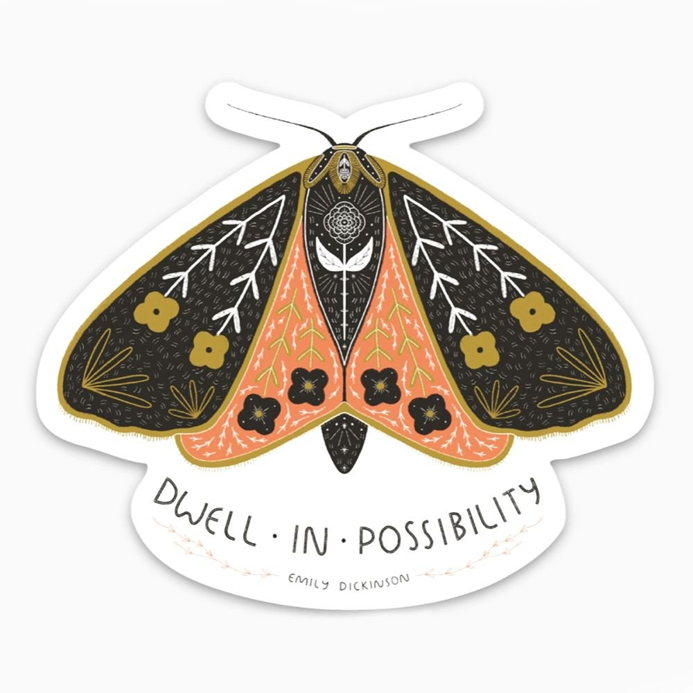 Gingiber - Dwell in Possibility Sticker