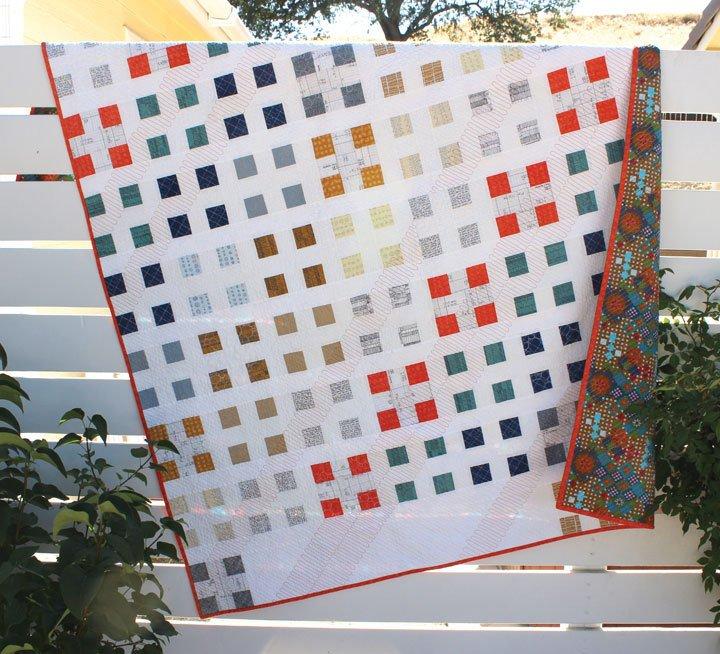 Orange Dot Quilts - Patch Nine