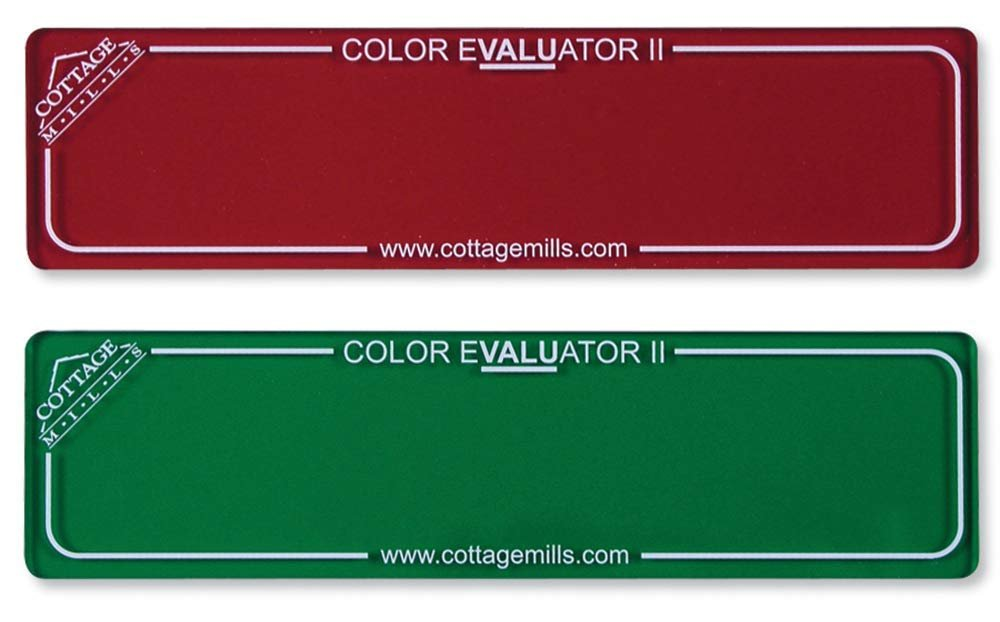 Color Evaluator - Red & Green
