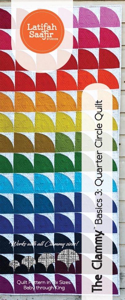 Latifah Saafir Studios - The Clammy: Basics 3: Quarter Circle Quilt