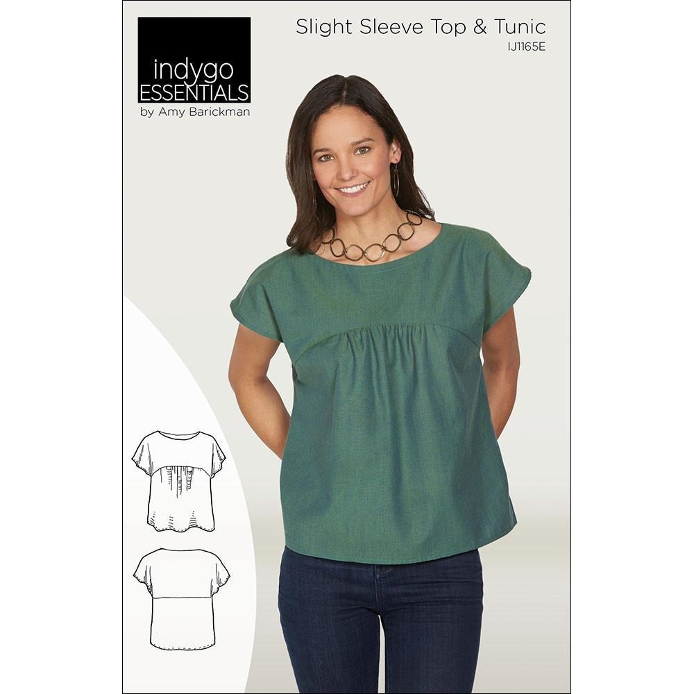 Indygo Essentials - Slight Sleeve Top & Tunic