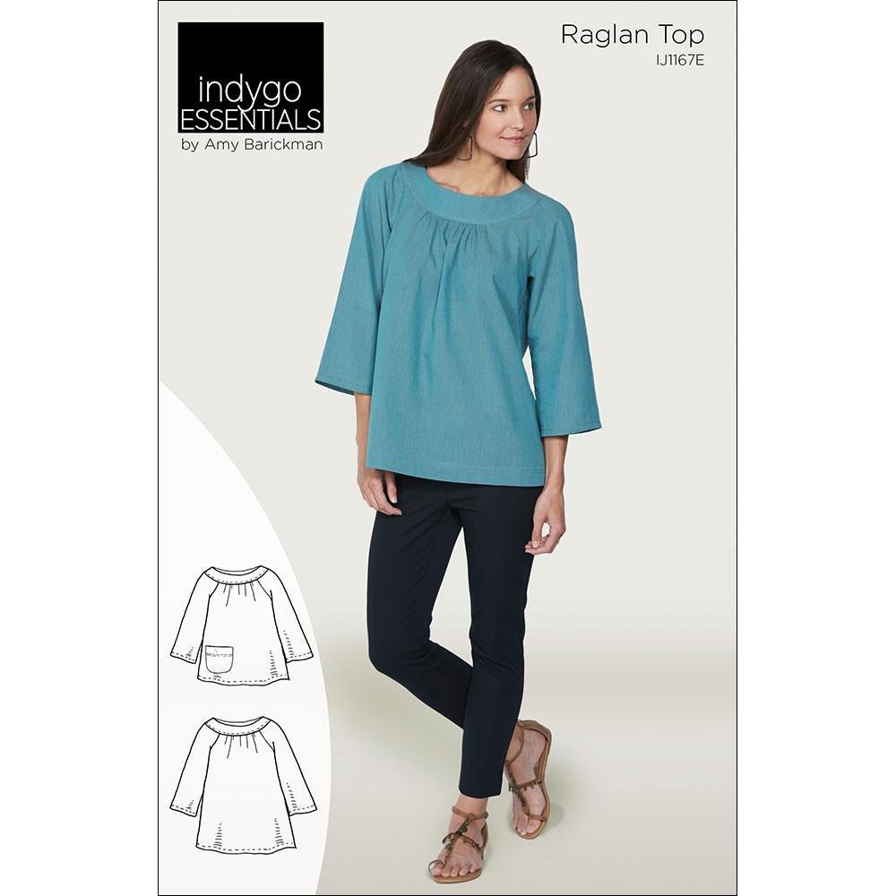 Indygo Essentials - Raglan Top