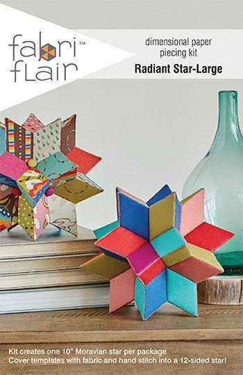 Fabri Flair Dimensional Paper Piecing Kit - Radiant Star - Large