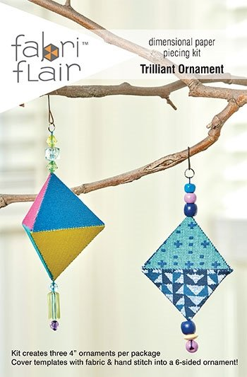 Fabri Flair Dimensional Paper Piecing Kit - Trilliant Ornament