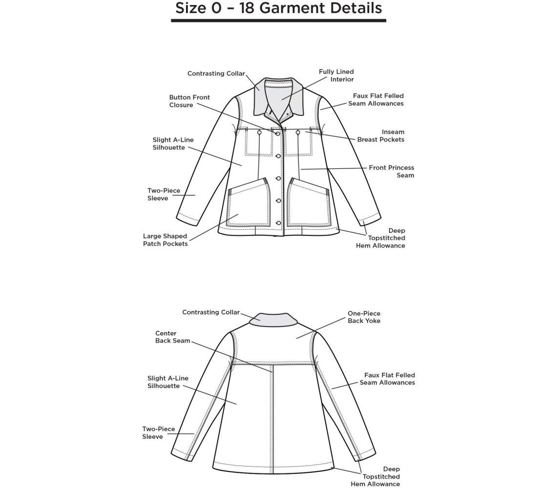 Grainline Studio - Thayer Jacket