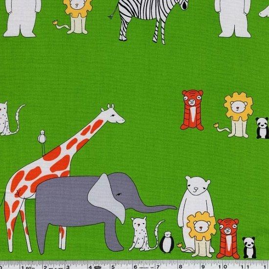 Zaza Zoo - Menagerie - Grass Green