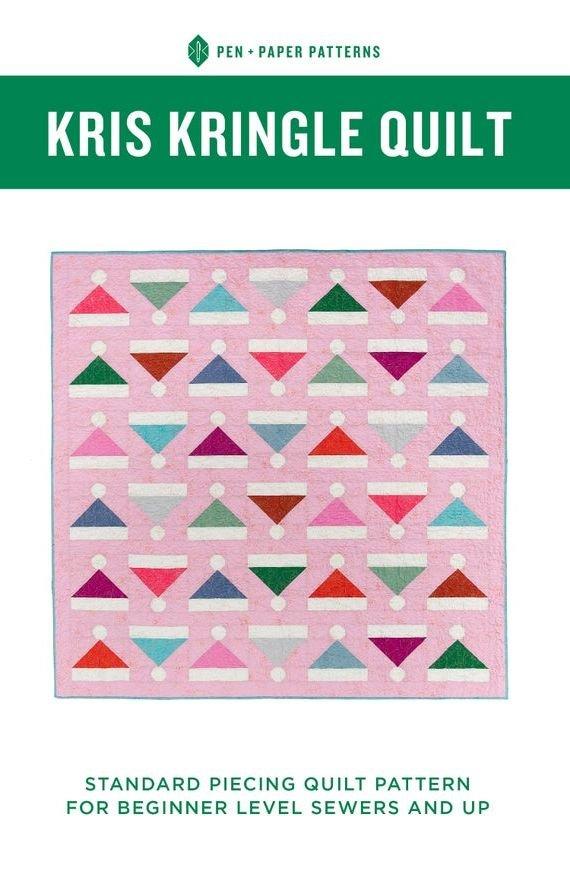 Pen + Paper Patterns - Kris Kringle Quilt