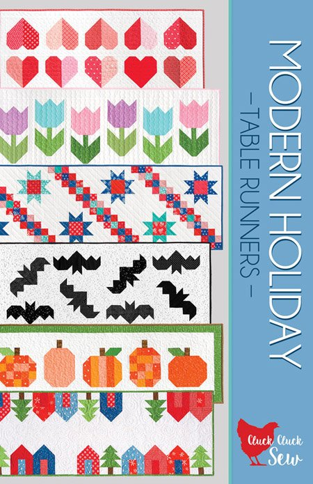 Cluck Cluck Sew - Modern Holiday Table Runners