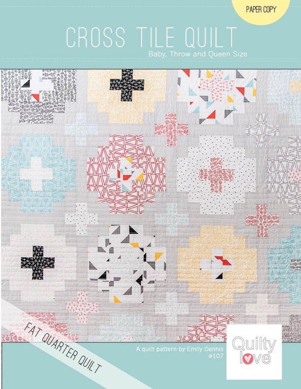 Quilty Love - Cross Tile Quilt