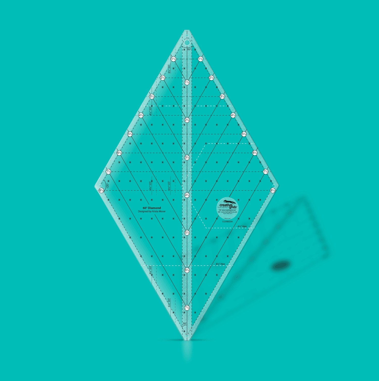 Ruler: 60 Degree Diamond