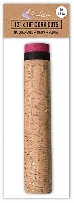 Cork Fabric - 12 x 18 Cuts - Oh La La