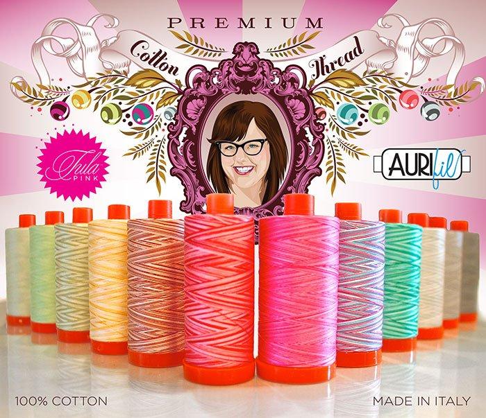 Aurifil Premium Collection - Tula Pink Small Spools