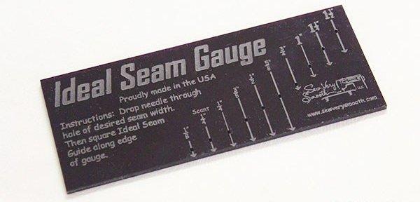 Ruler: Ideal Seam Gauge