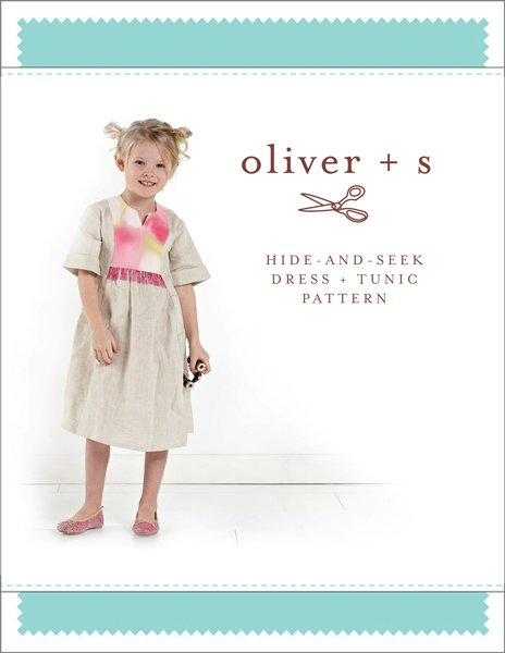 Oliver + S - Hide-and-Seek Dress + Tunic - 6M-4