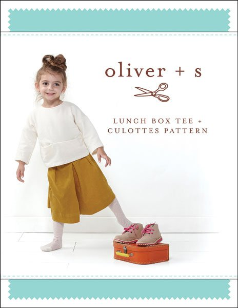 Oliver + S - Lunch Box Tee + Culottes - 6M-4