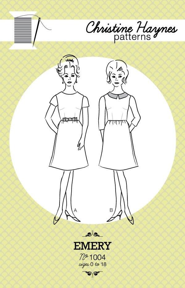 Christine Haynes - Emery Dress Pattern