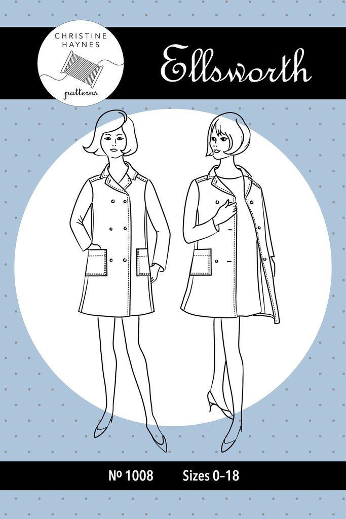 Christine Haynes - Ellsworth Coat Pattern