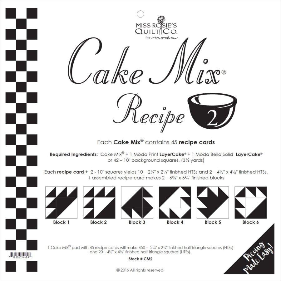Cake Mix - Recipe 2