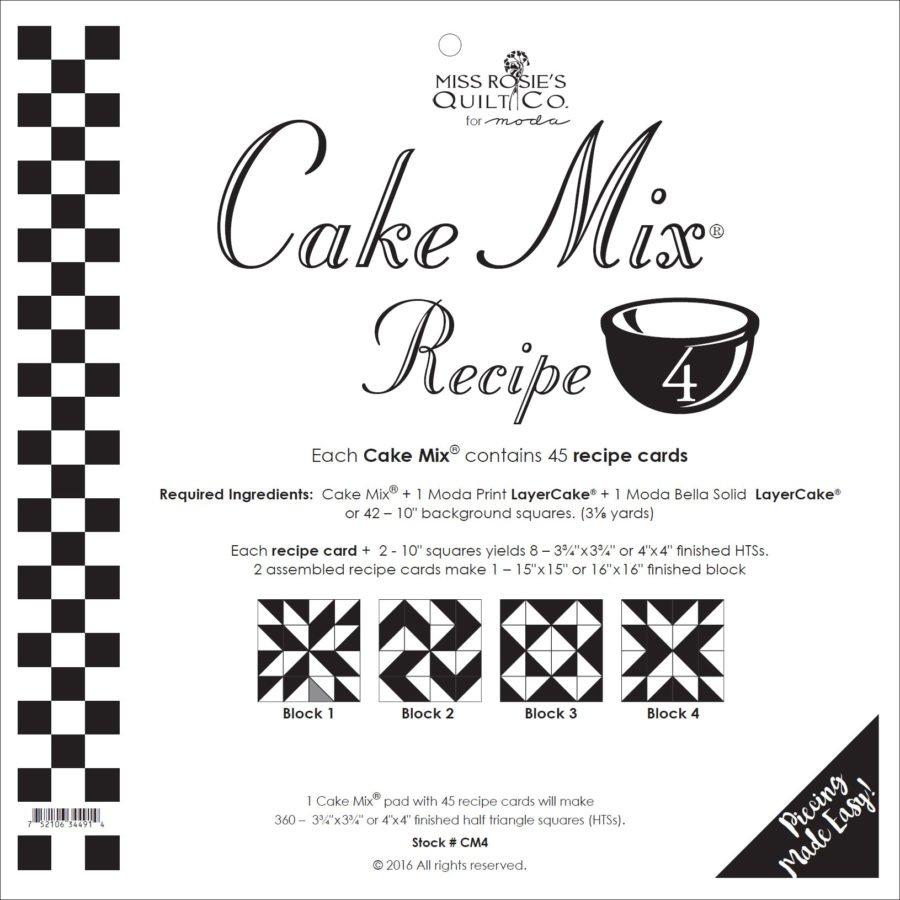 Cake Mix - Recipe 4