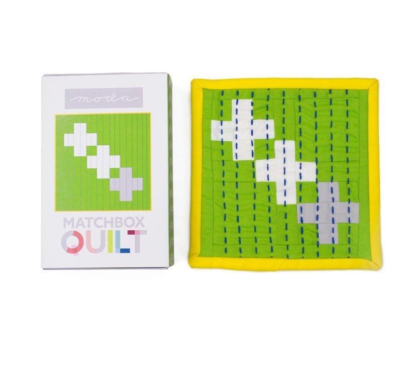 Quilt Kit - Matchbox Quilt Kit No. 8 - Grey