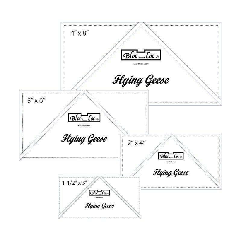 Ruler: Bloc Loc - Flying Geese Set #1