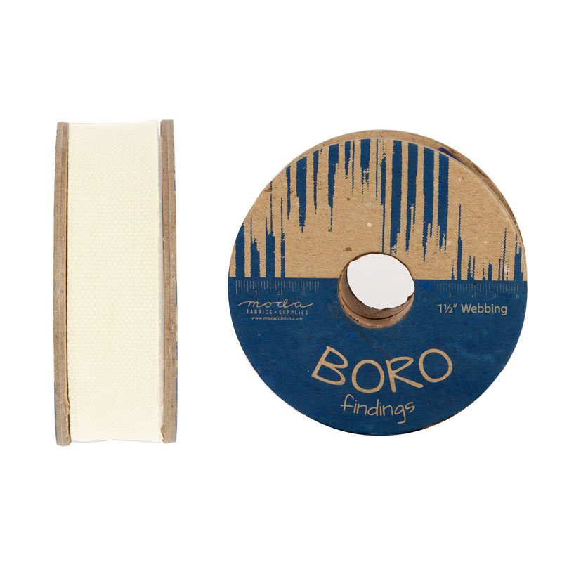 Boro Findings - 1 1/2 Cotton Webbing