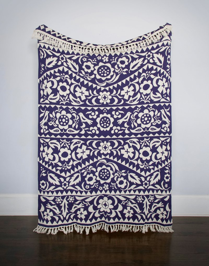 Throw Blanket - Flora
