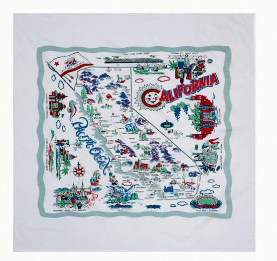 Tablecloth - California