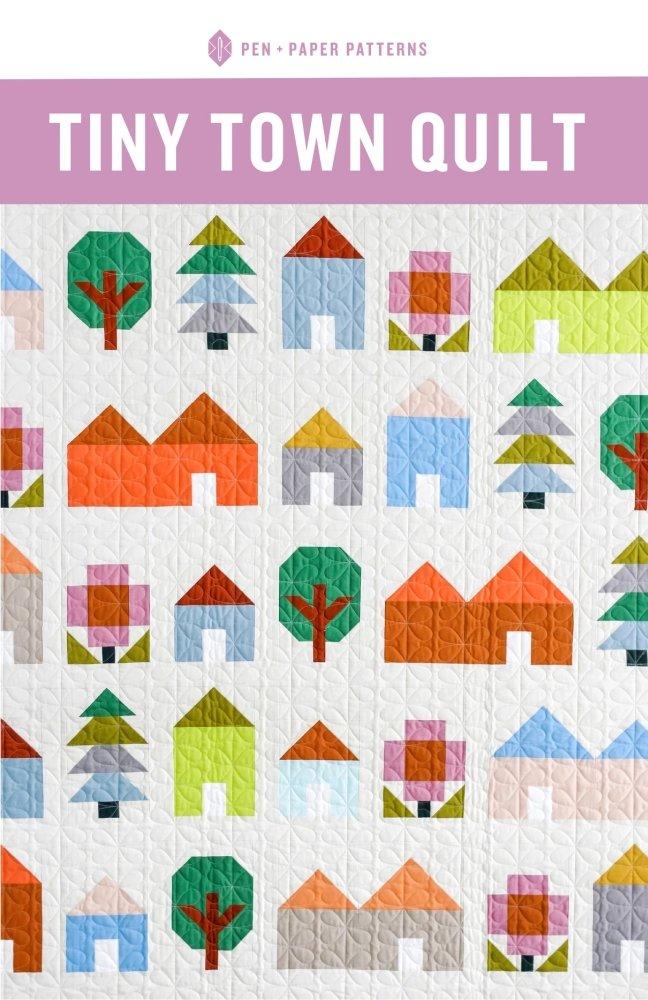 Pen + Paper Patterns - Tiny Town Quilt