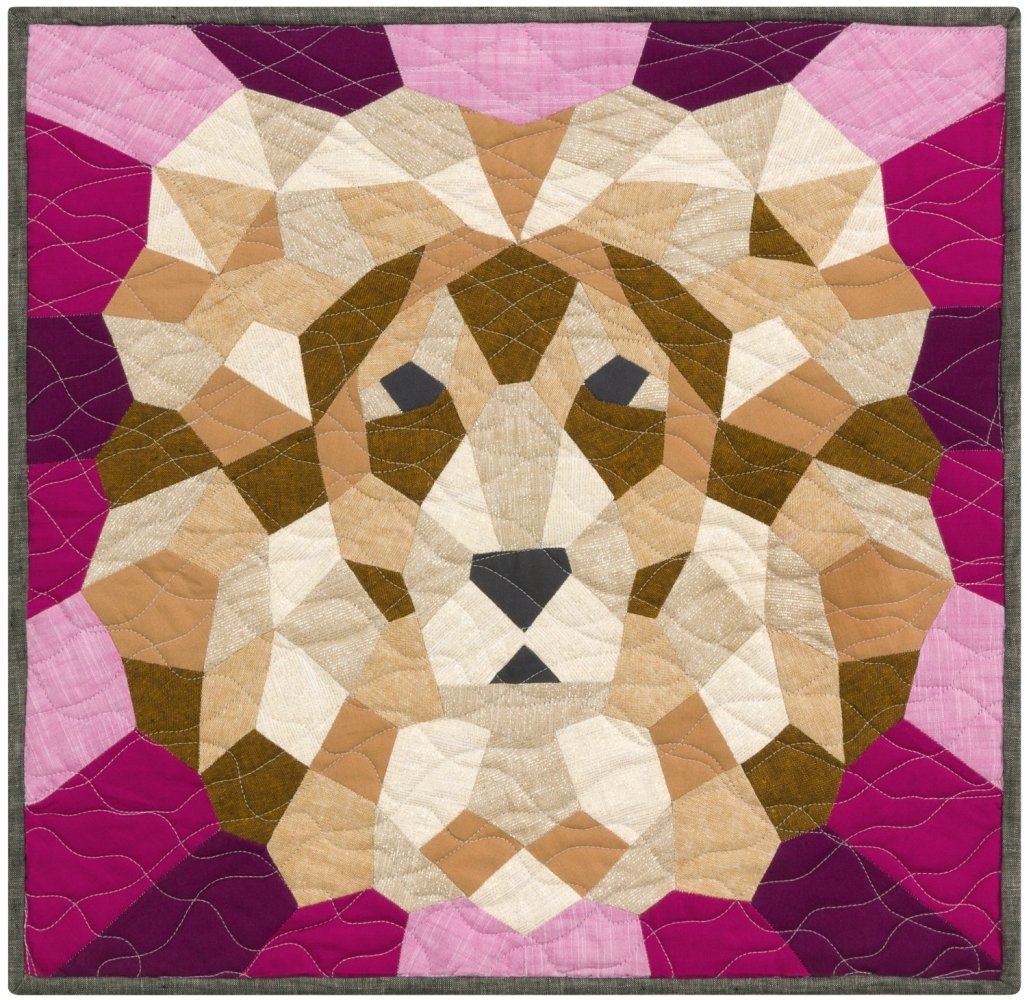 Violet Craft - The Lion English Paper Piecing Project