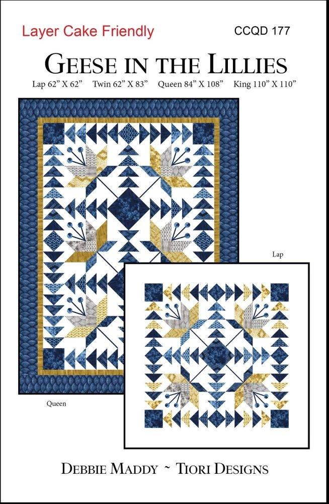 Calico Carriage Quilt Designs - Geese in the Lilies