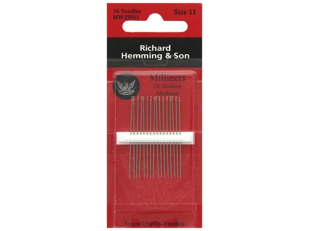 Richard Hemming & Son Needles - Milliners - Size 11
