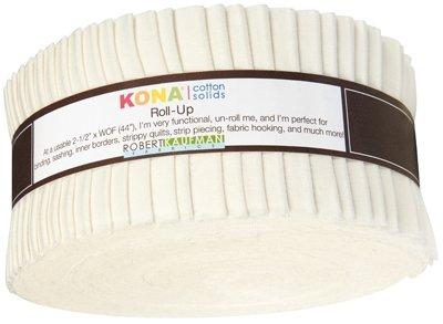 2 1/2 Roll - Kona Solids - Snow